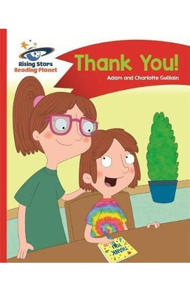 Reading Planet - Thank You - Red B: Comet Street Kids