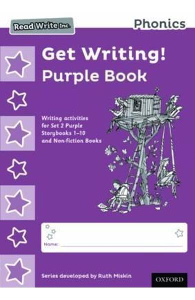 Read Write Inc. Phonics: Get Writing! Purple Book Pack of 10