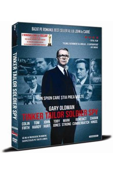 DVD Un Spion Care Stia Prea Multe - Tinker Tailor Soldier Spy