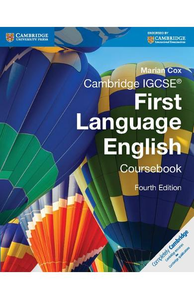 Cambridge IGCSE First Language English Coursebook with Free