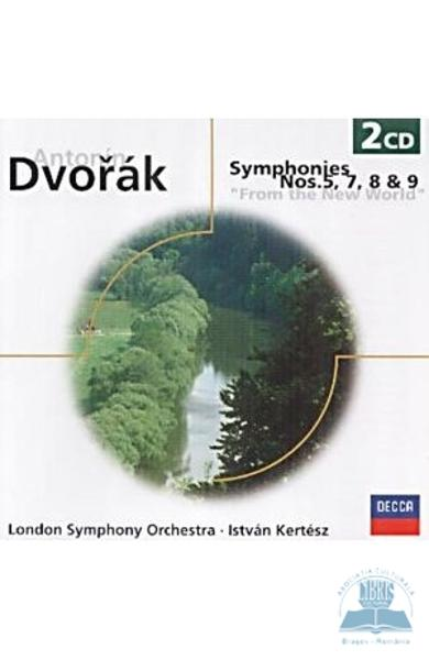 2CD Dvorak - Symphonies Nos.5,7,8 And 9