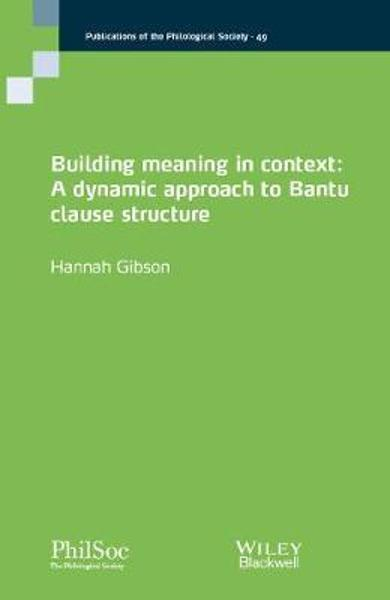Building Meaning in Context