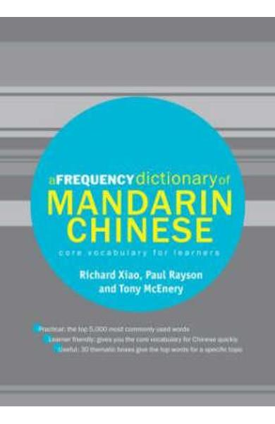 Frequency Dictionary of Mandarin Chinese - Richard Xiao
