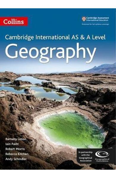 Cambridge International AS & A Level Geography Student's Boo