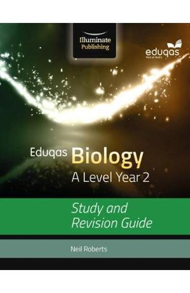 Eduqas Biology for A Level Year 2: Study and Revision Guide