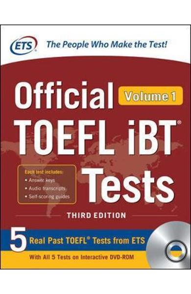 Official TOEFL iBT Tests Volume 1, Third Edition -