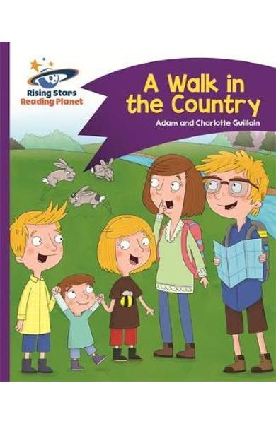 Reading Planet - A Walk in the Country - Purple: Comet Stree