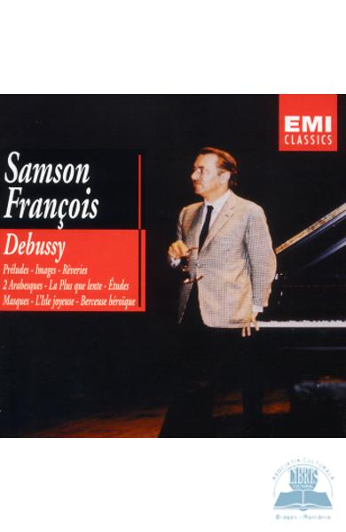 2CD Debussy - Oeuvres Pour Piano - Samson Francois
