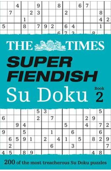 Times Super Fiendish Su Doku Book 2
