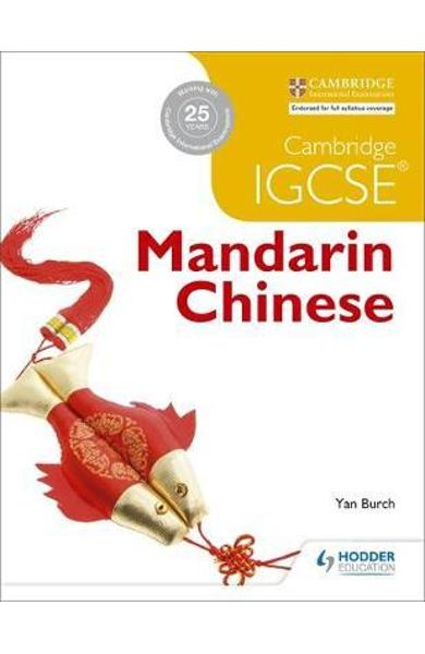 Cambridge IGCSE Mandarin Chinese