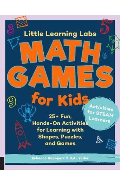 Little Learning Labs: Math Games for Kids, abridged paperbac - Rebecca Rapoport