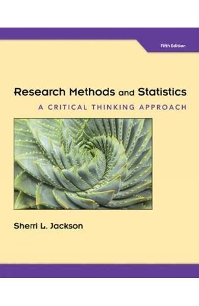 Research Methods and Statistics -