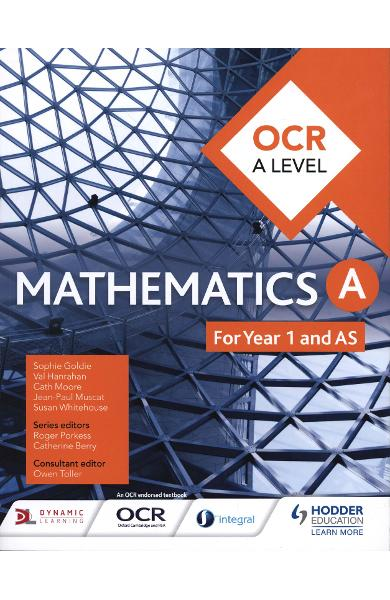 OCR A Level Mathematics Year 1 (AS) - Sophie Goldie