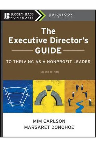 Executive Director's Guide to Thriving as a Nonprofit Leader