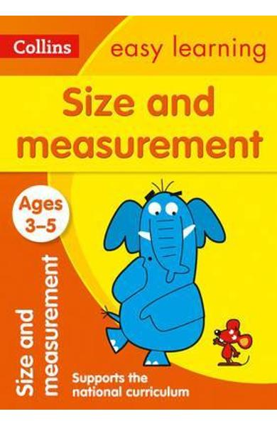 Size and Measurement Ages 3-5