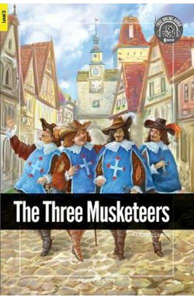 Three Musketeers - Foxton Reader Level-3 (900 Headwords B1) - Alexandre Dumas