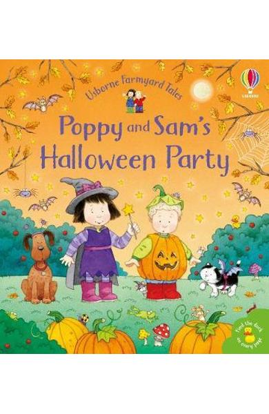 Poppy and Sam's Halloween Party - Sam Taplin