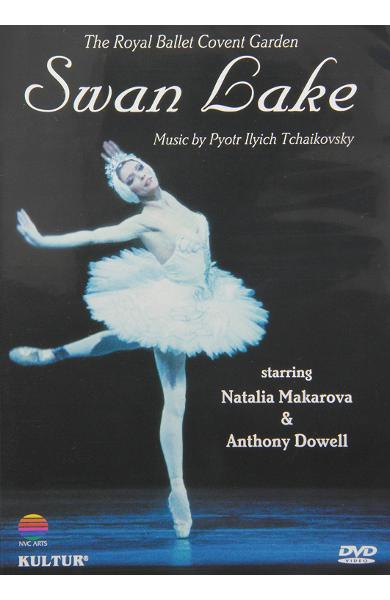 DVD Tchaikovsky - Swan lake - Natalia Makarova -  The Royal Ballet Covent Garden - Gergiev