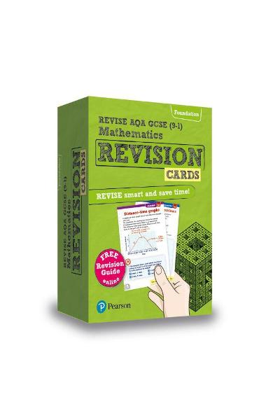 Revise AQA GCSE (9-1) Mathematics Foundation Revision Cards