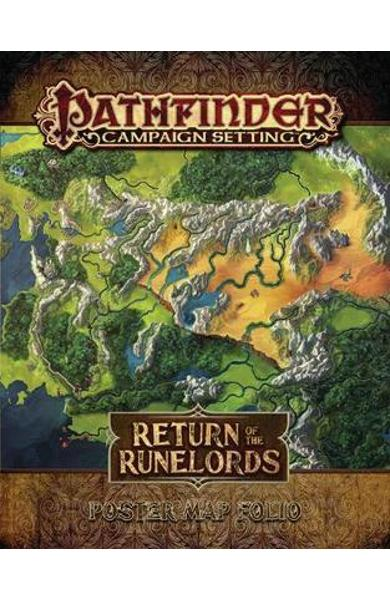 Pathfinder Campaign Setting: Return of the Runelords Poster