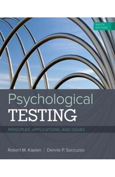 Psychological Testing - Robert M Kaplan