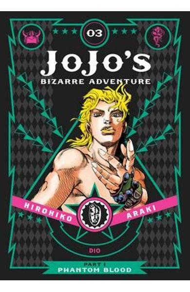 Jojo's Bizarre Adventure: Part 1 - Phantom Blood, Vol. 3 - Hirohiko Araki