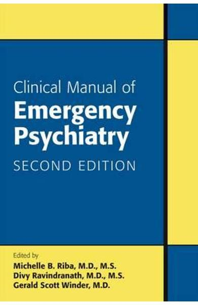Clinical Manual of Emergency Psychiatry