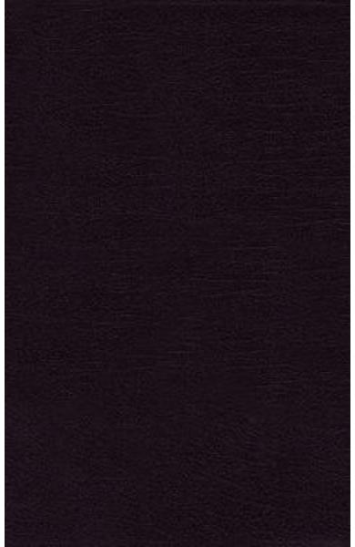 NRSV, Thinline Bible, Large Print, Bonded Leather, Black, Co