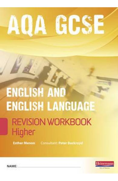 Revise GCSE AQA English/Language Workbook - Higher