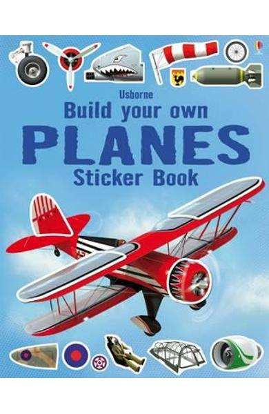 Build Your Own Planes Sticker Book
