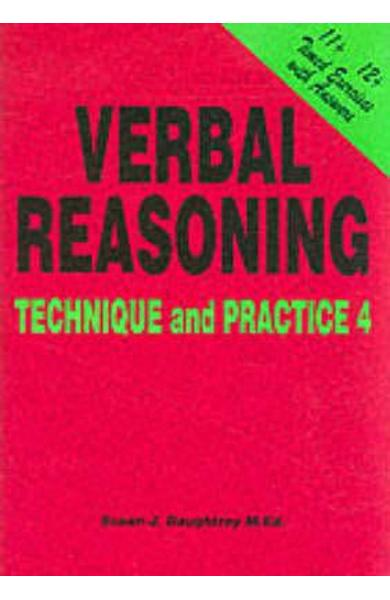 Verbal Reasoning: Technique and Practice No. 4 - Susan J. Daughtrey