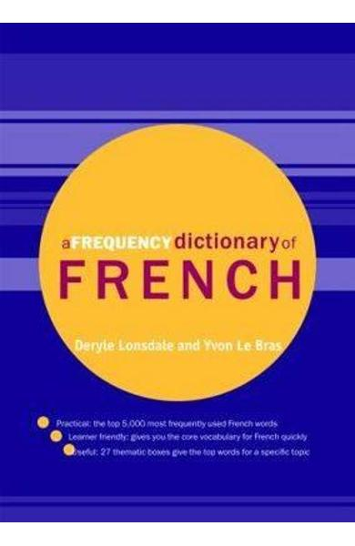Frequency Dictionary of French