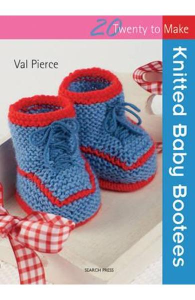 Knitted Baby Bootees