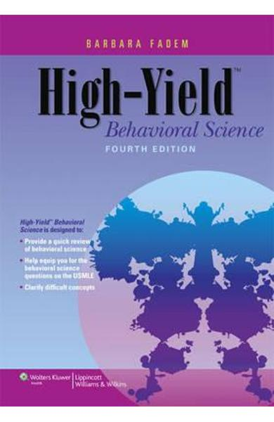 High-yield Behavioral Science