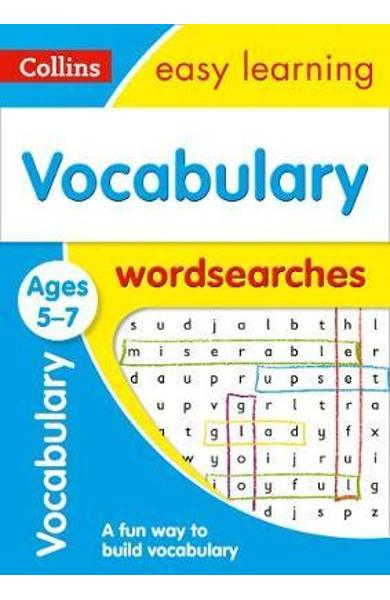 Vocabulary Word Searches Ages 5-7