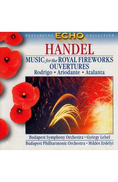 CD Handel - Music For The Royal Fireworks, Ouvetures
