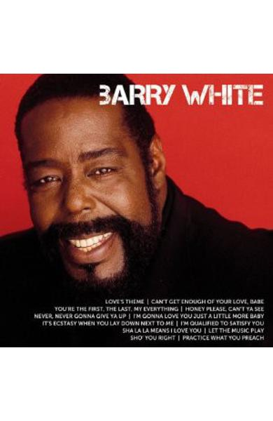 CD Barry White - Icon