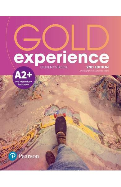 Gold Experience 2nd Edition A2+ Student's Book - Amanda Ms Maris