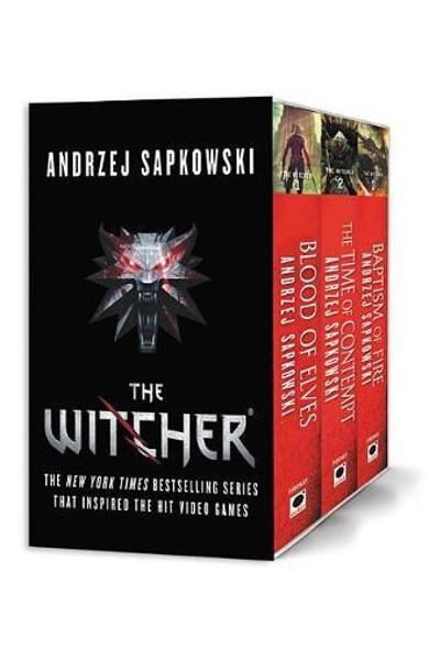 Witcher Boxed Set: Blood of Elves, the Time of Contempt, Bap