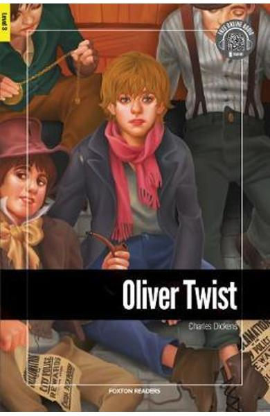 Oliver Twist - Foxton Reader Level-3 (900 Headwords B1) with - Charles Dickens