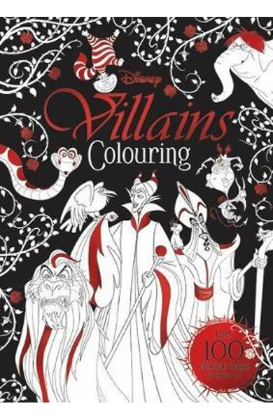 Disney Classics - Mixed: Villains Colouring -