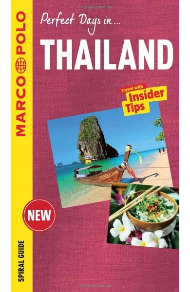 Thailand Marco Polo Travel Guide - with pull out map
