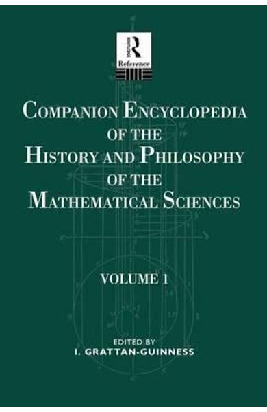 Companion Encyclopedia of the History and Philosophy of the