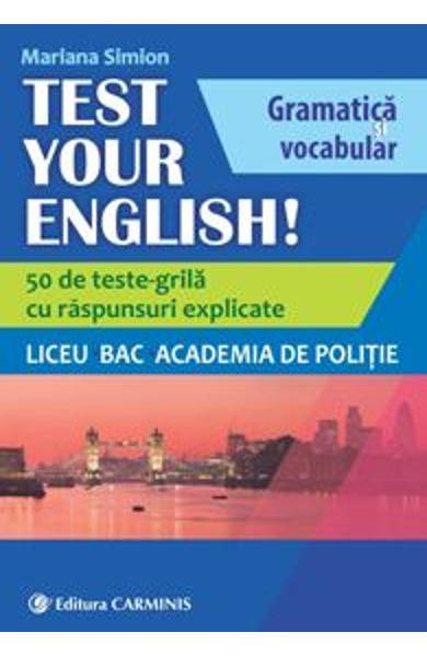 Test Your English! - Mariana Simion