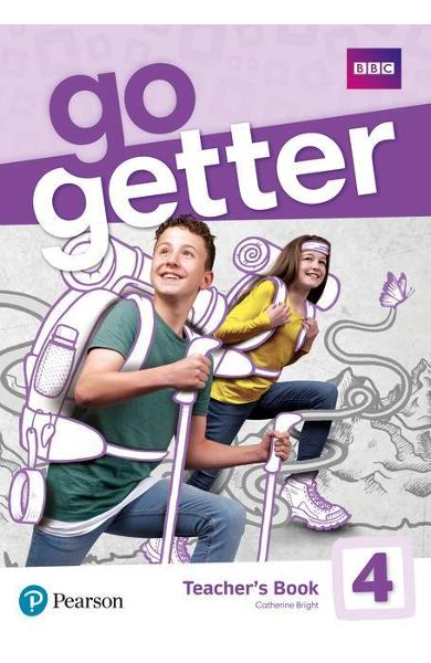 GoGetter 4 Teacher's Book with MyEnglishLab & Online Extra H -