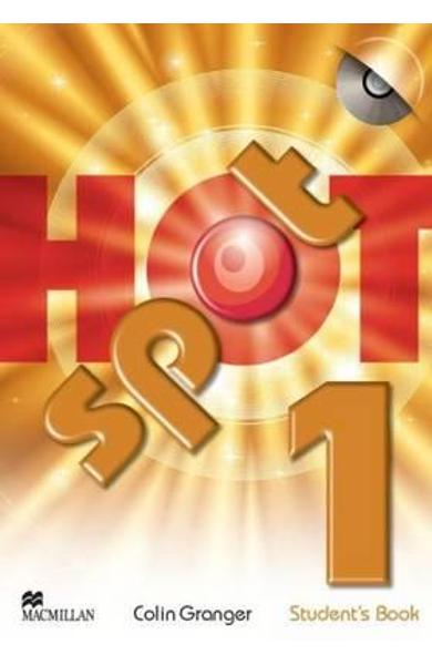 Hot Spot 1 Student's Book & CD-ROM Pack
