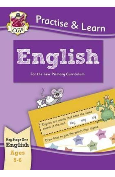 New Practise & Learn: English for Ages 5-6 -