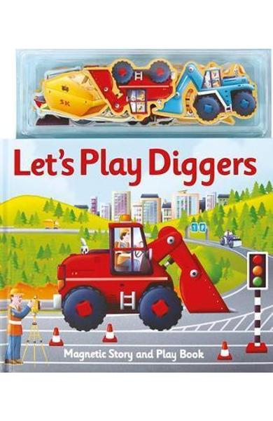 Magnetic Let's Play Diggers - Alfie Clover
