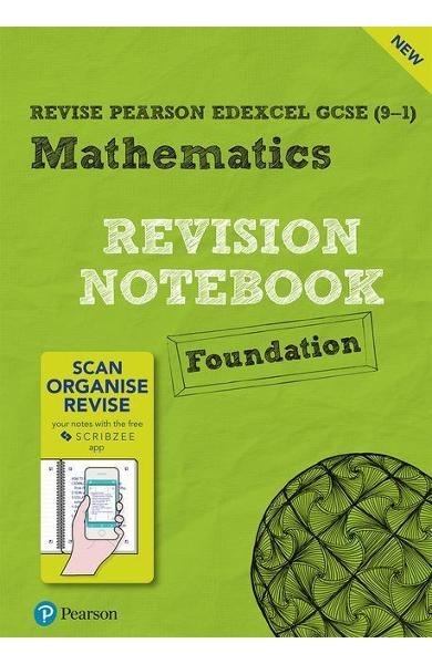 Revise Edexcel GCSE (9-1) Mathematics Foundation Notebook