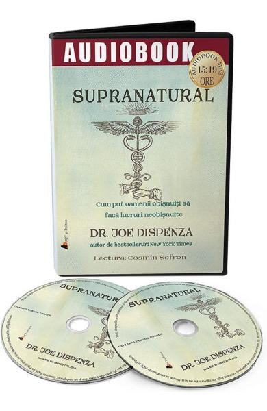 Audiobook. Supranatural - Joe Dispenza